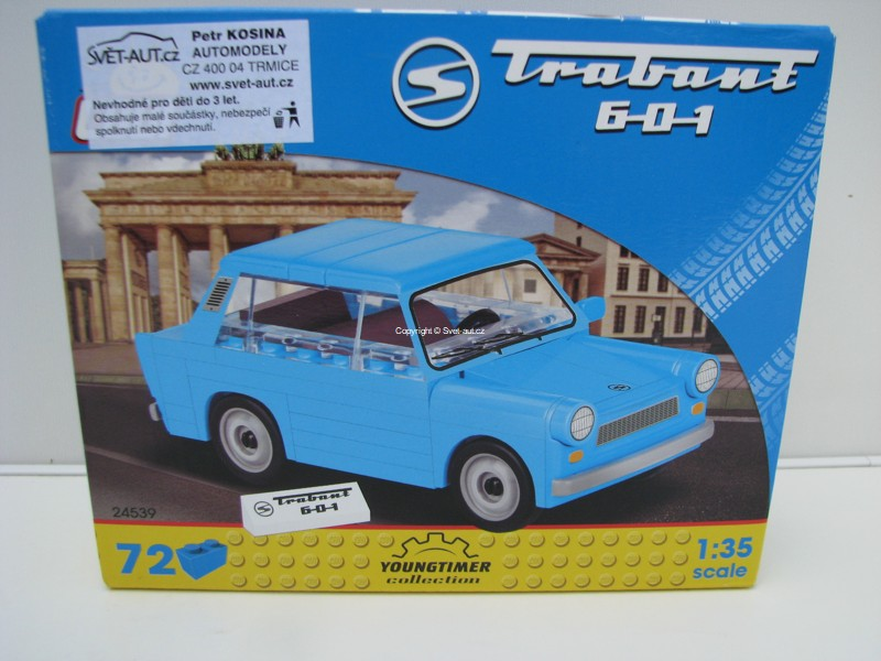 Cobi 24539 Trabant 601 stavebnice 1:35 Youngtimer collection